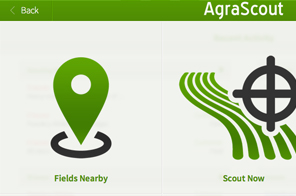 AgraScout Menu